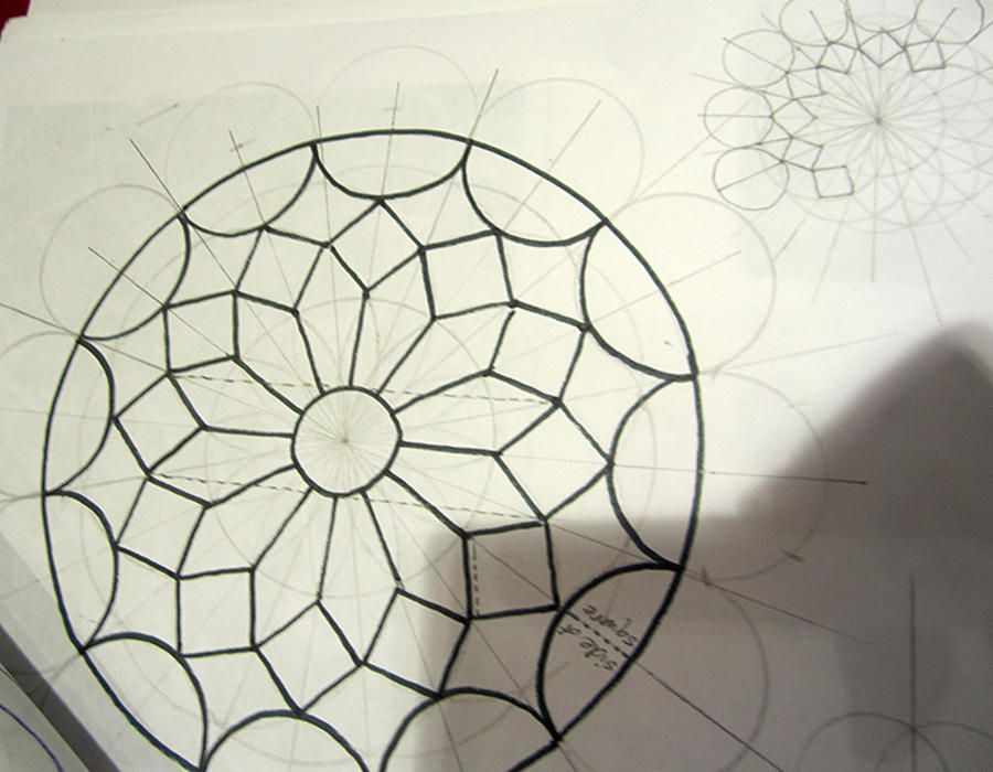 Drawing And Art Expression With Sacred Geometry