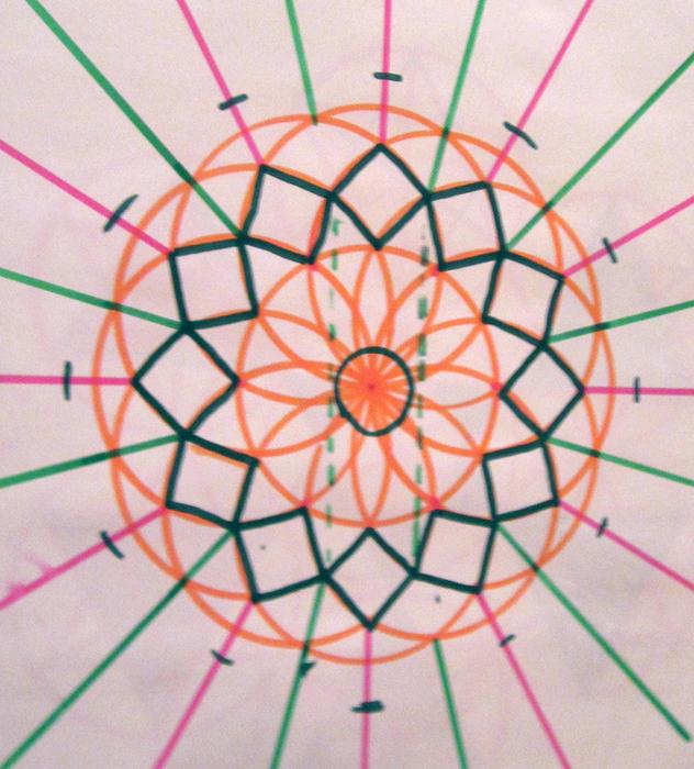 how to draw sacred geometry art